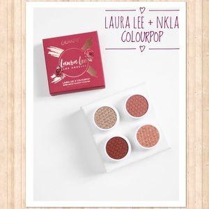 LLLA & NKLA + Colourpop Foursome Eyeshadow Palette